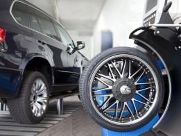 Change a tyre