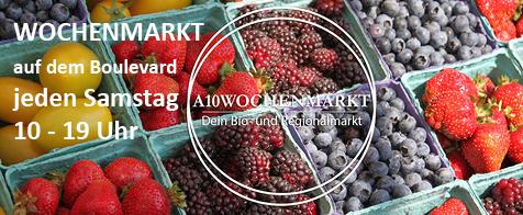 Der A10 Wochenmarkt