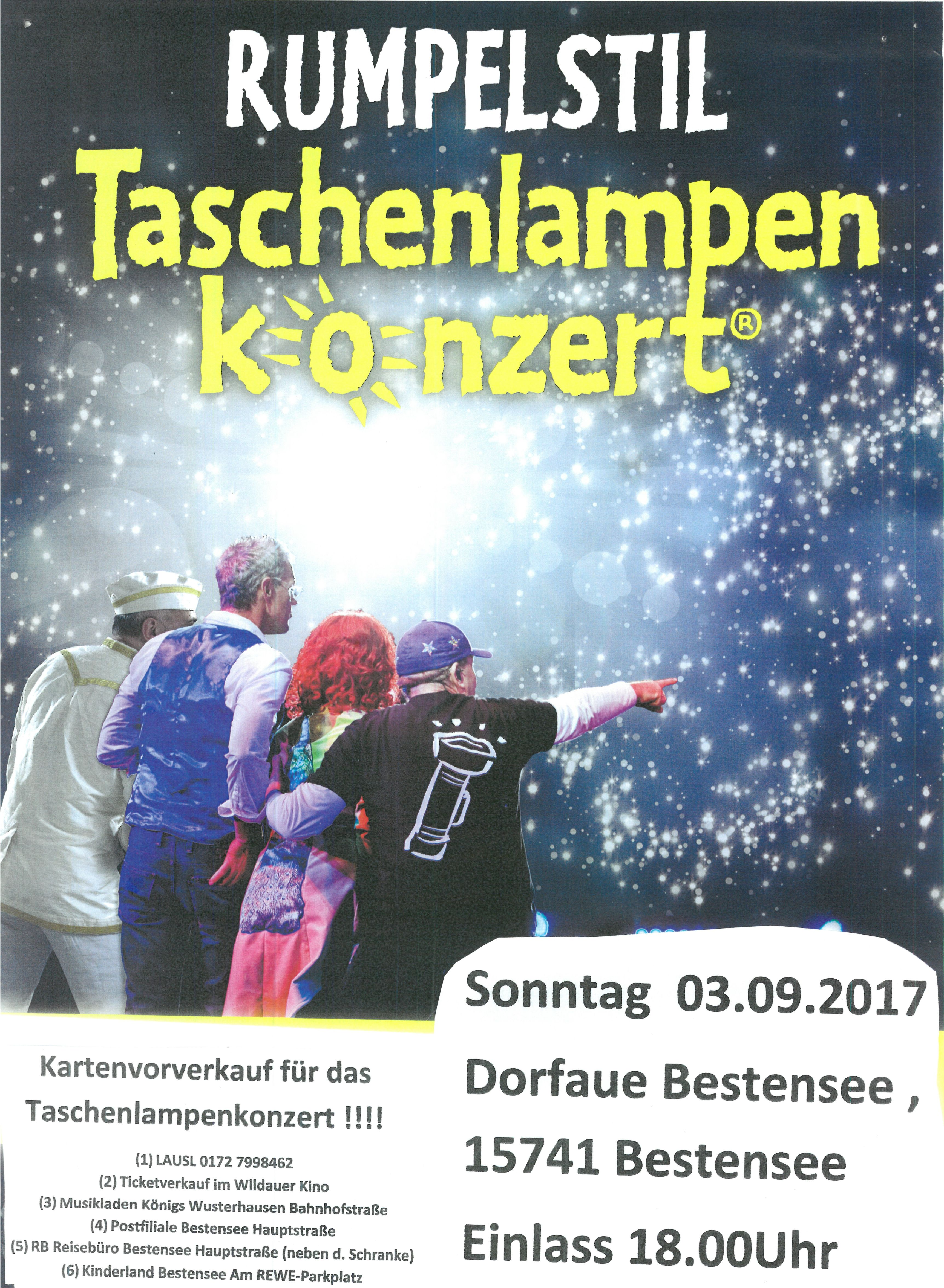 taschenlampenkonzert 2018 berlin